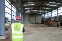 pallet racking site survey for new industrial building