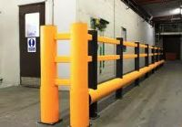 Pedestrian and fork lift truck barriers