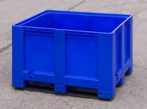 Blue Pallet Box