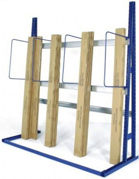 Vertical racks for Vertical lumber storage rack