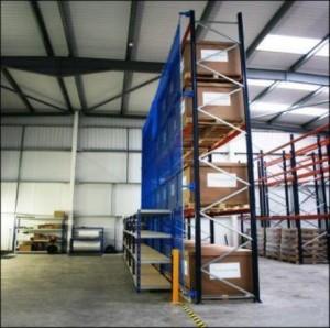 anti collapse nylon mesh for pallet racking