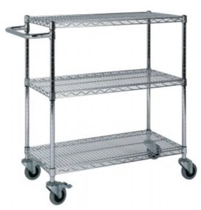 stainless steel shelving and trolleys