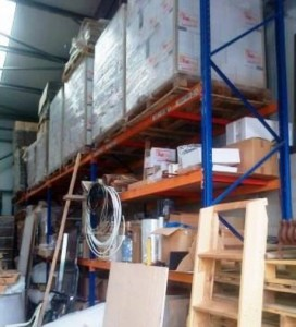 used HiLo Ks pallet racking