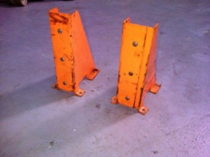 used column guards