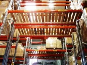 warehouse pallet racking decks