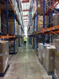 2h Storage warehouse racking inspections