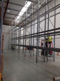 Warehouse racks galv