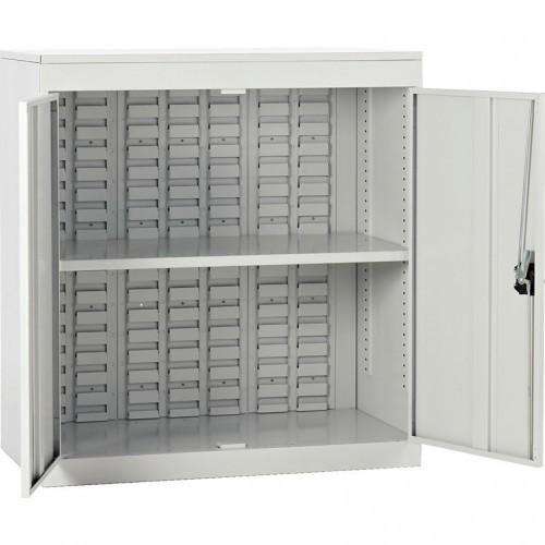 Half Height louvre panel cupboard