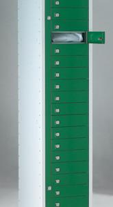 20 Door Garment Dispenser 1778 high x 381 Wide x 457 Deep