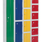 Heavy Duty 2 Door Locker 1776x305x305 c/w ASSA Deadlocks