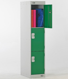 3/4 Height 2 Door Locker 1382x300x450 - Nest of 1