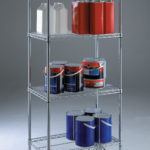4 Tier Wire Shelving