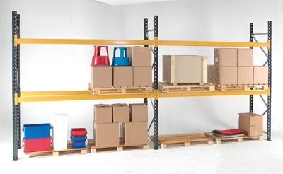 Adustable pallet racking