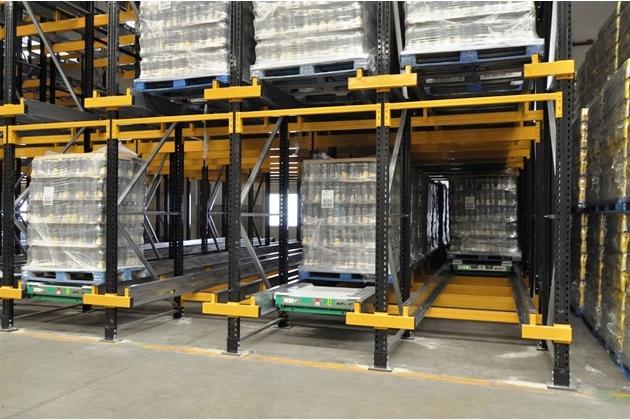 warehouse shuttle system