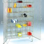 40 compartment mesh lockers