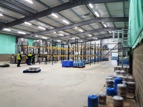 Pallet Racking Installation Yorkshire Food Manufacture