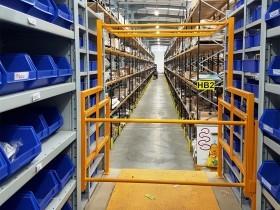 Hitachi Warehouse Install Hitachi