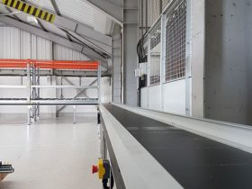 Powered Conveyor Installation