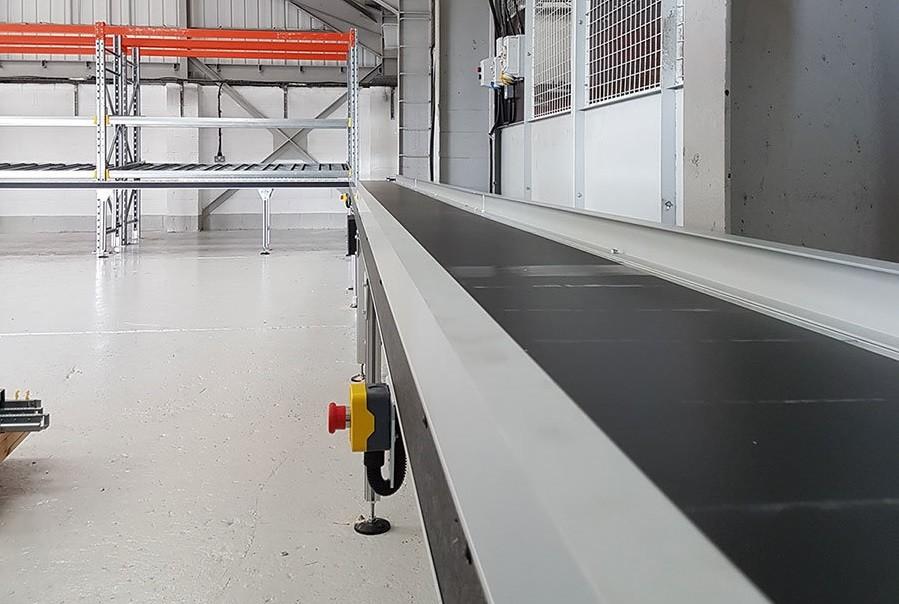 Belt Conveyor System Installation