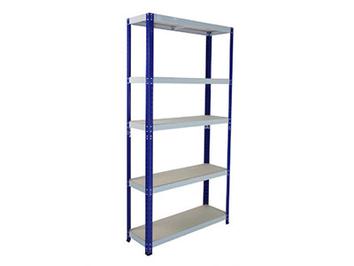 Bolt-free Shelving