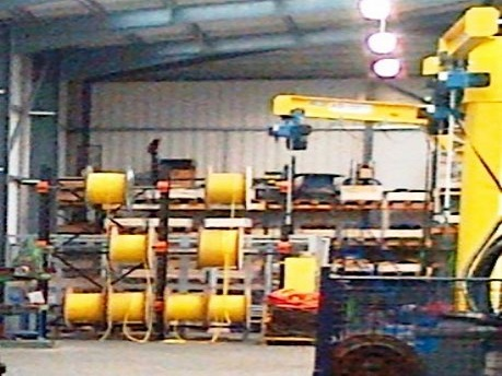 Cable Drum Racking