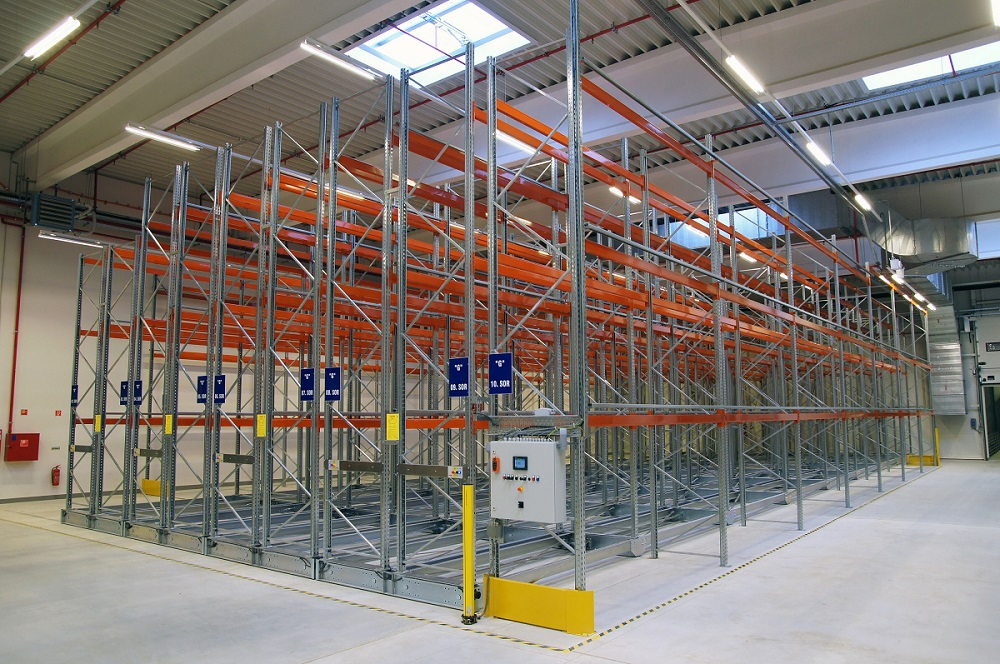 Dexion p90 Mobile Racking ASRS