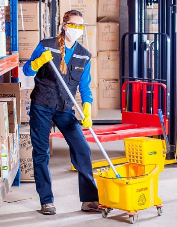 warehouse cleaning disinfection services