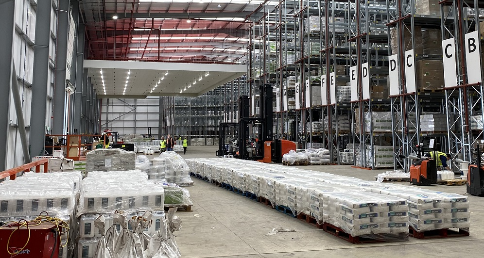 Warehouse Fit Out Distribution Centre - Turn key solutions for Tremco