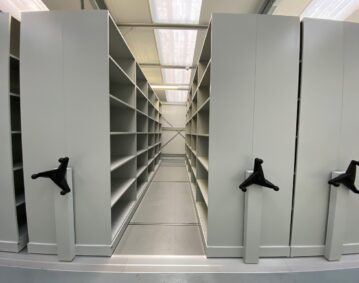 Mobile Shelving Installation
