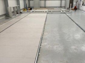 Warehouse Mobile Storage Install