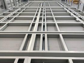 Warehouse Mobile Storage Installation Base Frame
