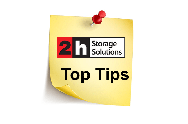 2h Storage Solutions Top Tips-min