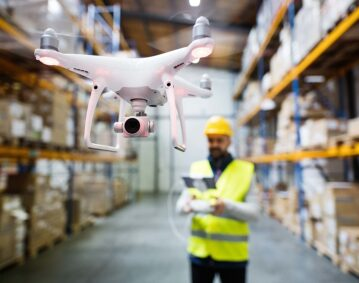Warehouse Drone Inventory